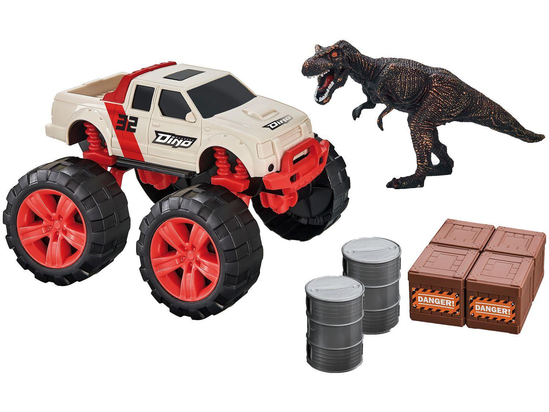 Carrinho Dino Runners Pick-Up - Usual Brinquedos com Acessórios