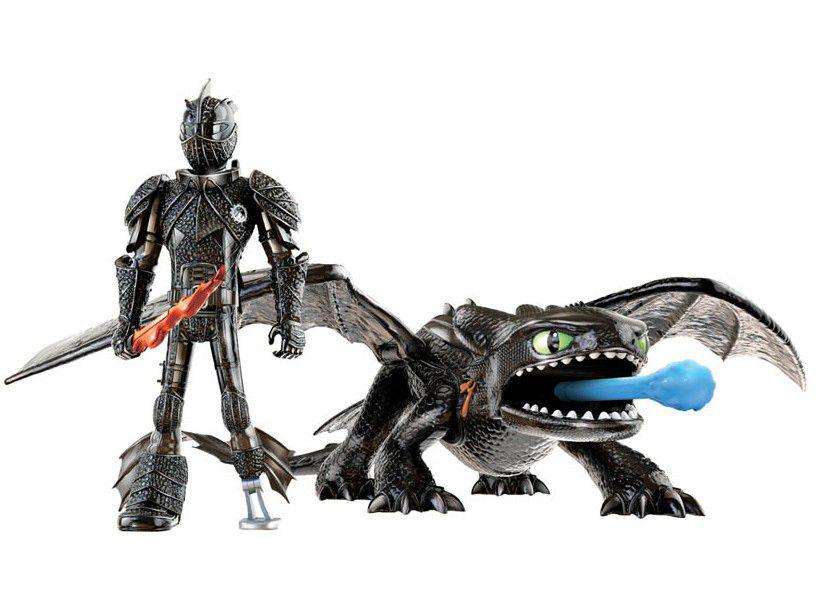 Boneco Como Treinar o seu Dragão 3 1452 - 6,5cm com Acessórios Sunny Brinquedos