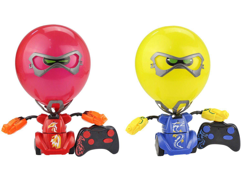 Robô de Brinquedo com Controle Remoto - Kombat Boom Balão DTC