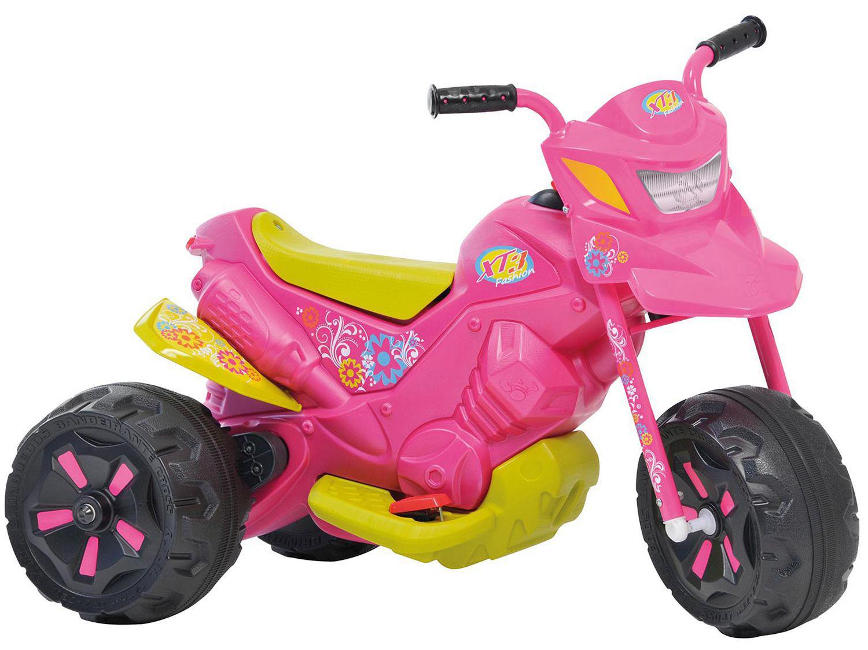 Mini Moto Elétrica Infantil XT3 Fashion 2 Marchas - Bandeirante