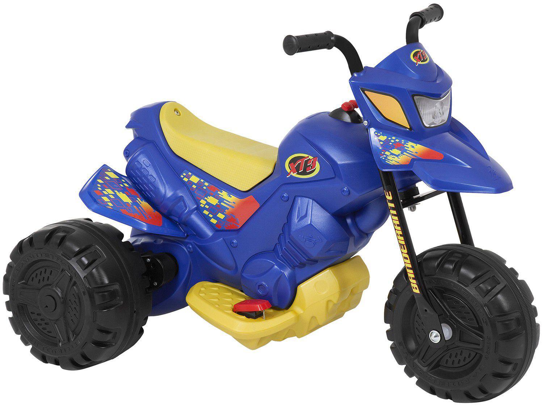 Mini Moto Elétrica Infantil XT3 2 Marchas 6V - Bandeirante