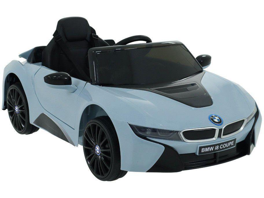 Carro Elétrico Infantil Azul Bel Fix BMW i8 Coupe - 12V com Controle Remoto