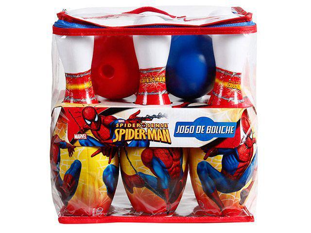 Jogo de Boliche Homem Aranha - Lider Brinquedos