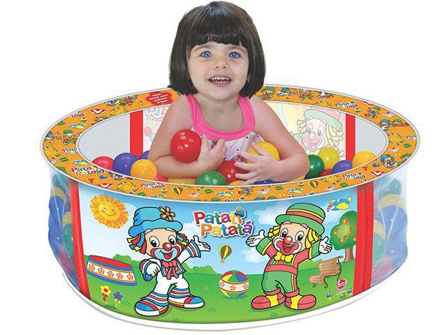 Piscina de Bolinhas Patati Patatá - Piscina de Bolinha Líder Brinquedos