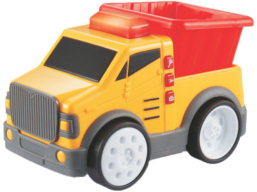 Caminhão de Brinquedo Super Caminhões Aperta & - Anda Pura Diversão Roda Livre Yes Toys