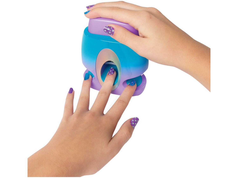 Conjunto para Pintura de Unhas Go Glam - Sunny Brinquedos 9 Peças
