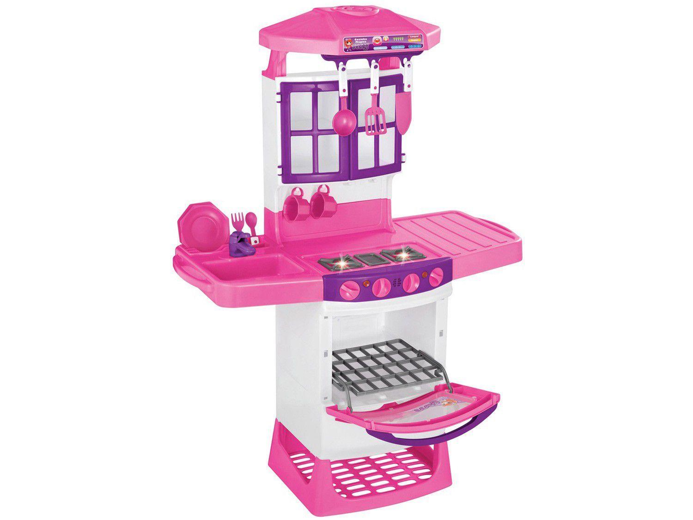 Cozinha Mágica Eletrônica Meg - Magic Toys