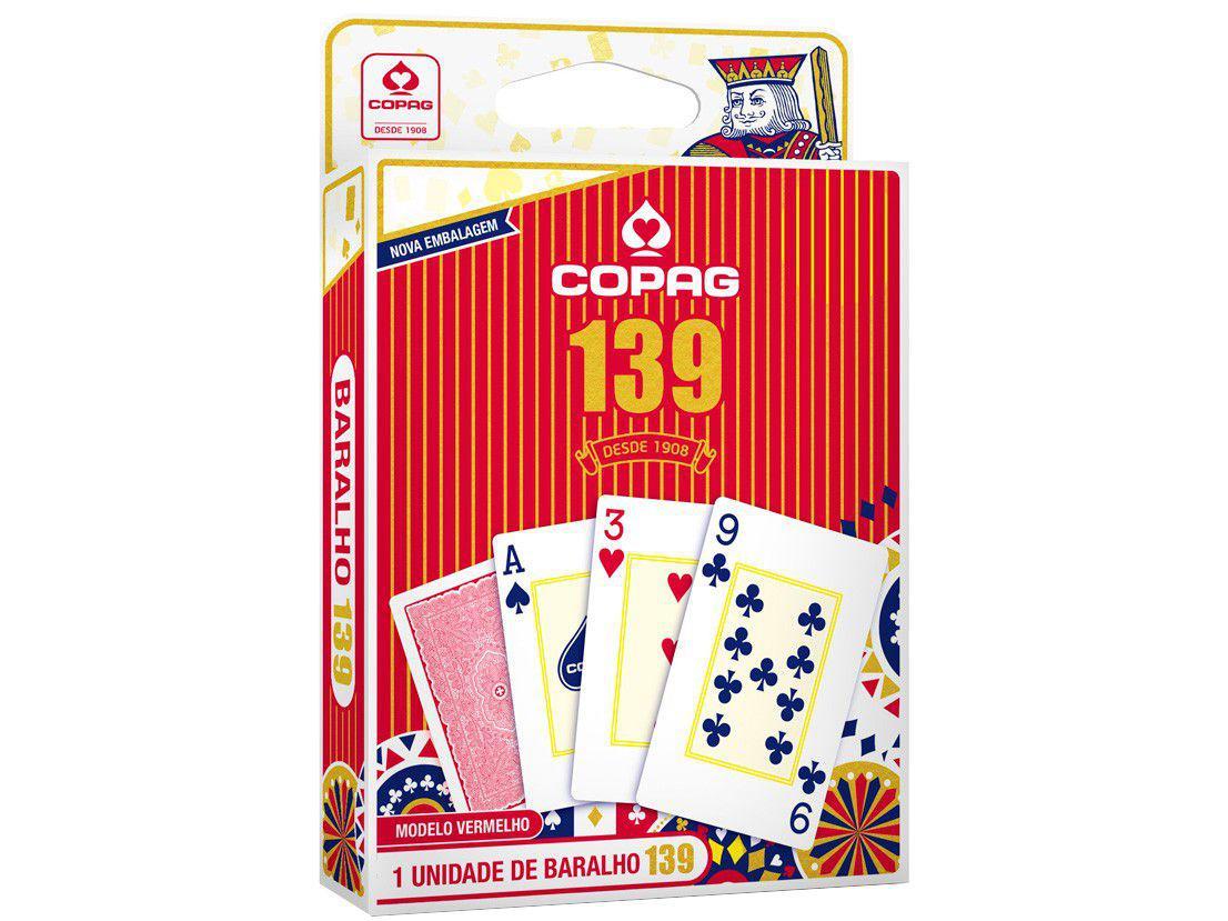 Jogo Baralho 139 Copag - 55 Cartas