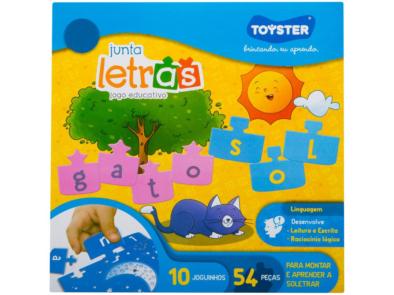 Jogo Junta Letras - Toyster