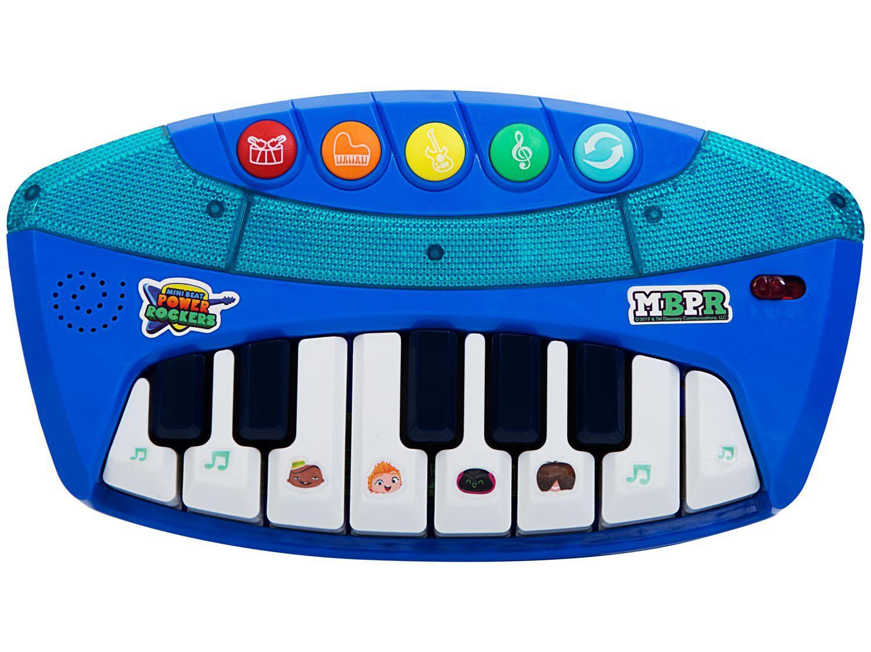 Teclado de Brinquedo Mini Beat F00056 - Power Rockers