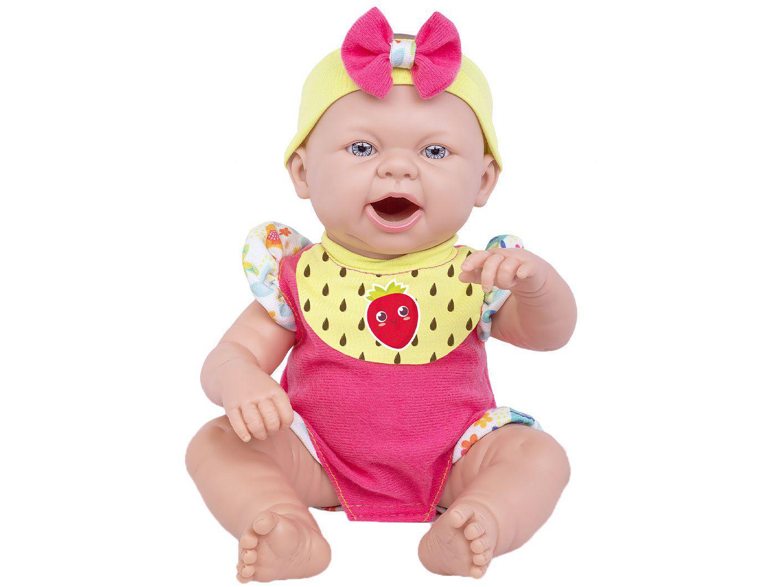 Boneca Reborn Baby Ninos Hora do Lanche - Cotiplás
