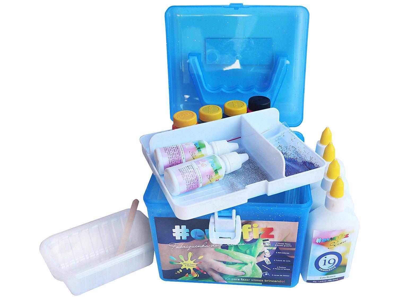Slime #euqfiz Fabriquinha de Slimes - i9 Brinquedos