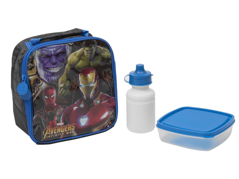 Lancheira Infantil Escolar Marvel - Avengers Infinity War Xeryus 96.201