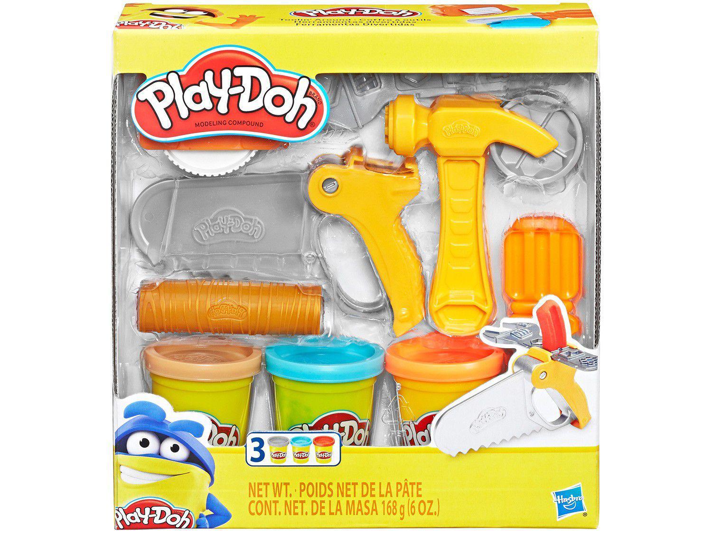 Massinha de Modelar Hasbro Play-Doh - Ferramentas Divertidas