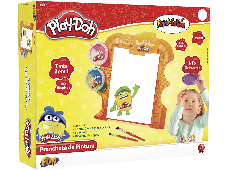 Kit de Colorir PlayDoh Prancheta de Pintura - com Acessórios Fun