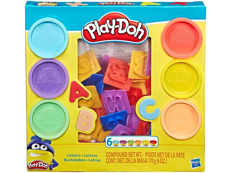 Massinha Play Doh Letras Hasbro - com Acessórios