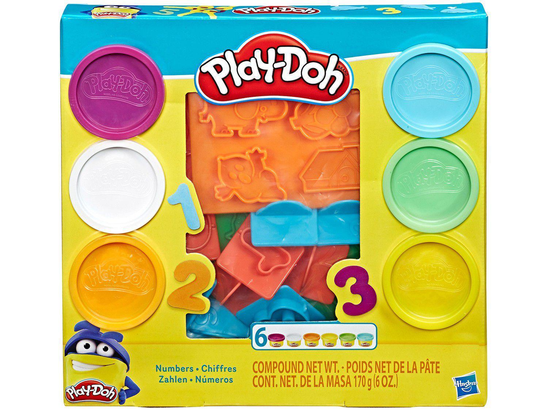 Massinha Play Doh Números Hasbro - com Acessórios
