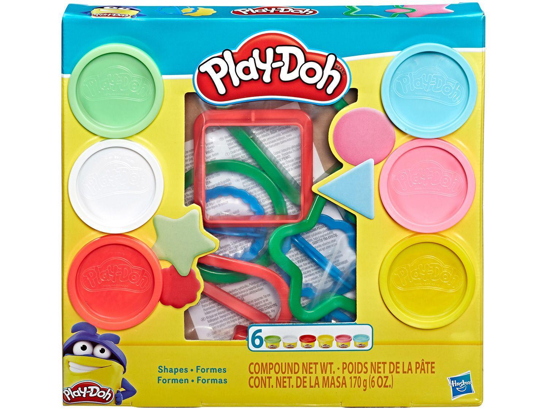 Massinha Play Doh Formas Hasbro - com Acessórios