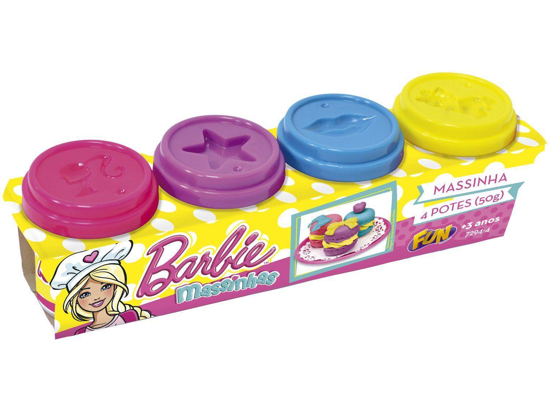 Massinha Barbie Play-Doh com Acessórios