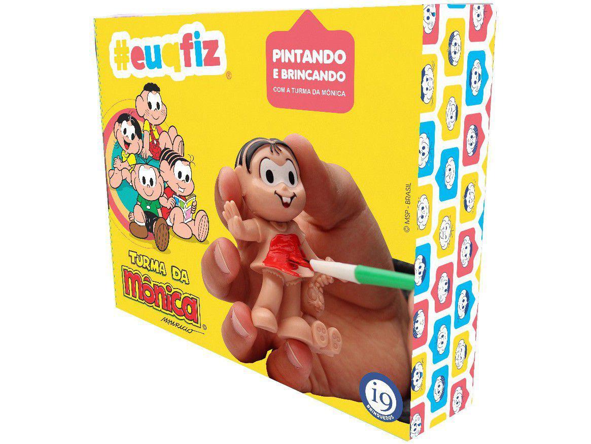 Kit de Pintura Turma da Mônica - #euqfiz Pintando e Brincando i9 Brinquedos