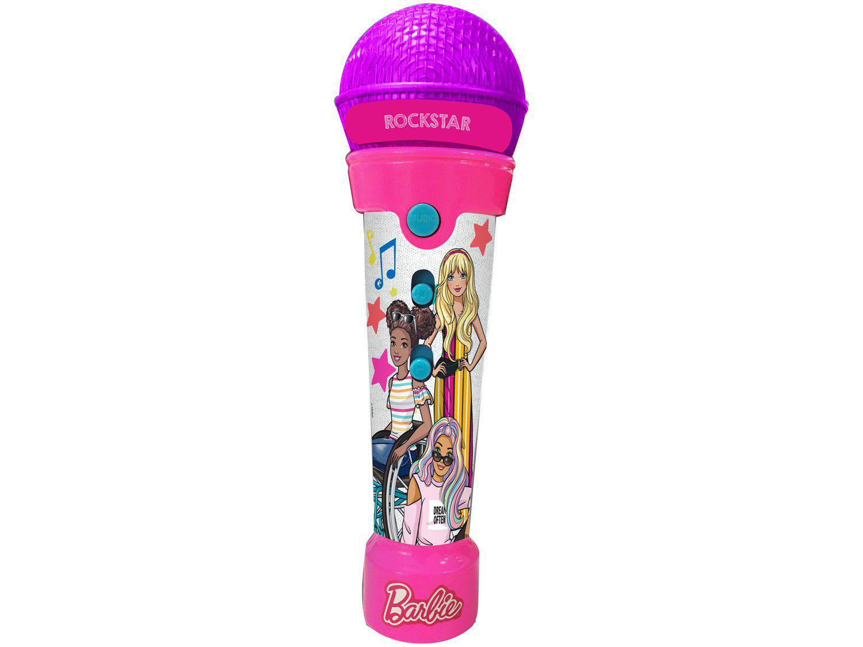 Microfone Infantil Barbie Rockstar - Fun