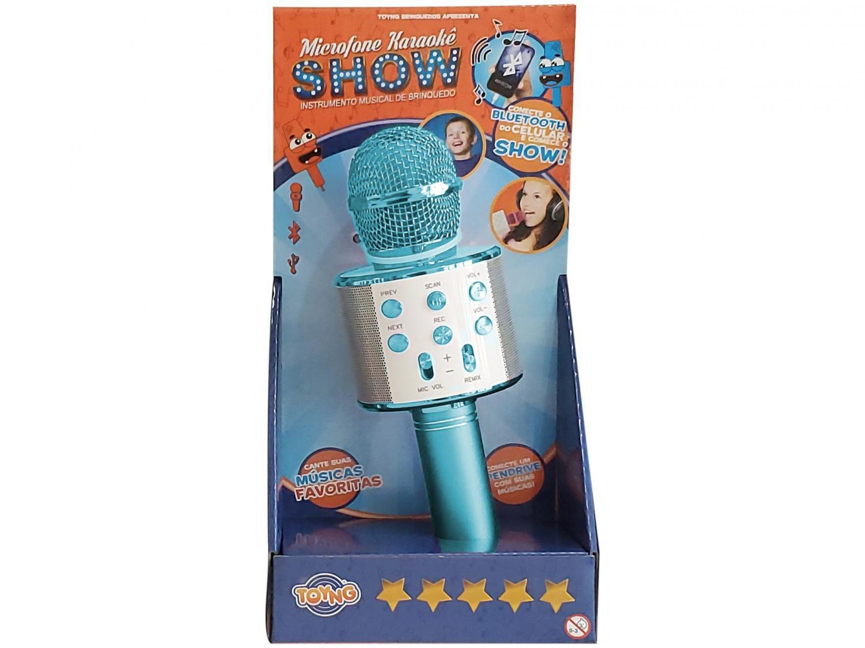 Microfone Infantil Karaokê Show Toyng