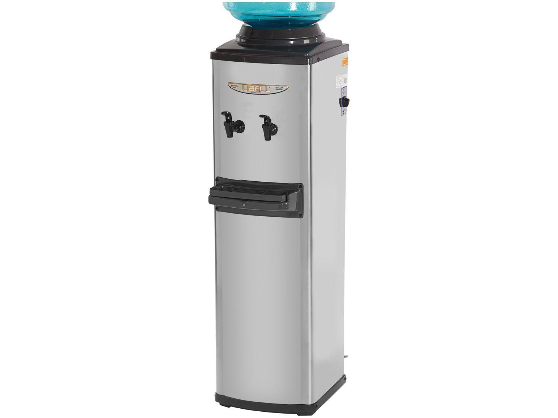 Bebedouro de Coluna Refrigerado por Compressor - Inox - Libell Master CGA