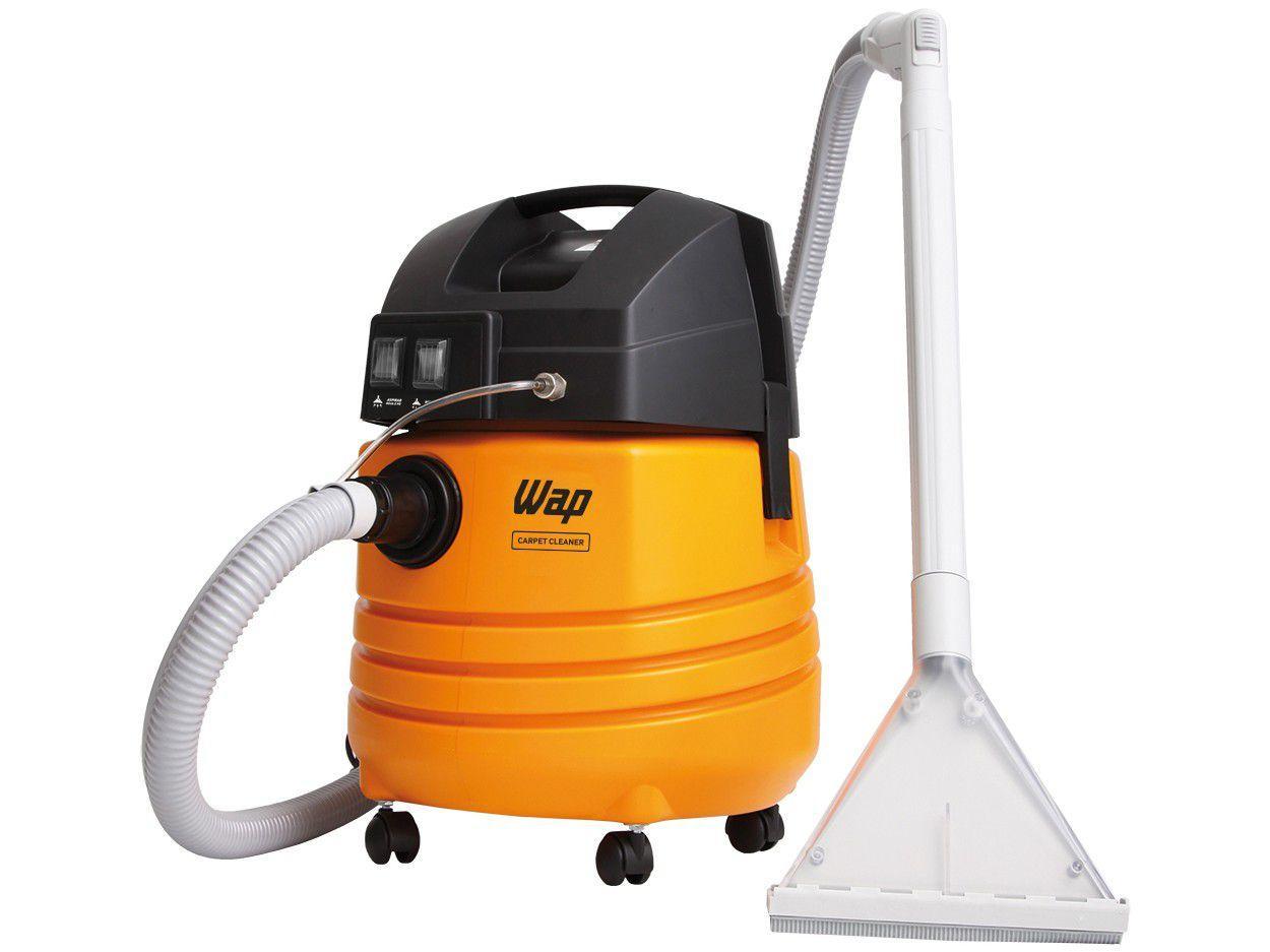 Extratora/Aspirador de Pó e Água Profissional Wap - 1600W Carpet Cleaner Amarelo e Preto