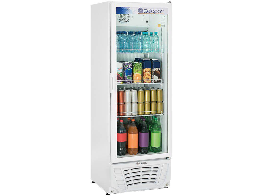 Expositor de Bebidas Vertical Gelopar GPTU 40 - 414L 1 Porta