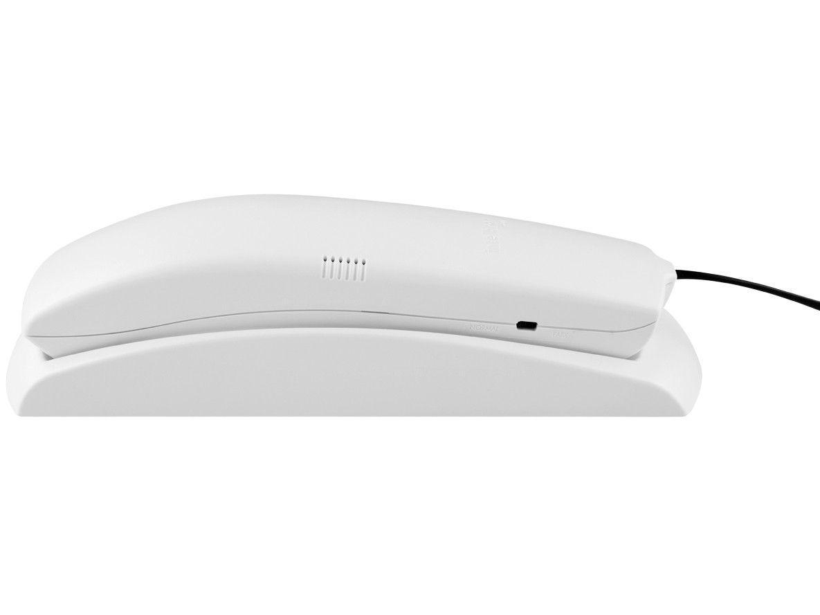 Telefone Com Fio Intelbras TC 20 - Cinza Ártico