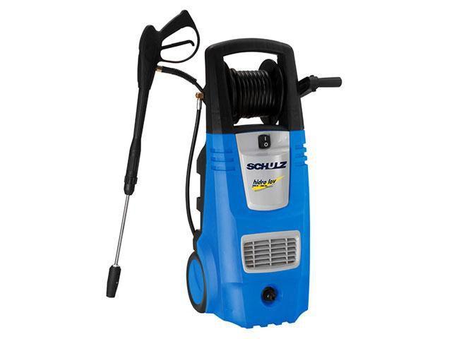 Lavadora de Alta Pressão Schulz 2600W - 2900 Libras Motor de Indução Reserv. de Detergente