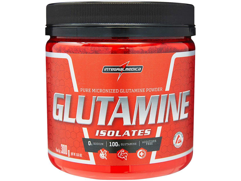 Glutamina Integralmédica Isolates em Pó 300g - Neutro Natural