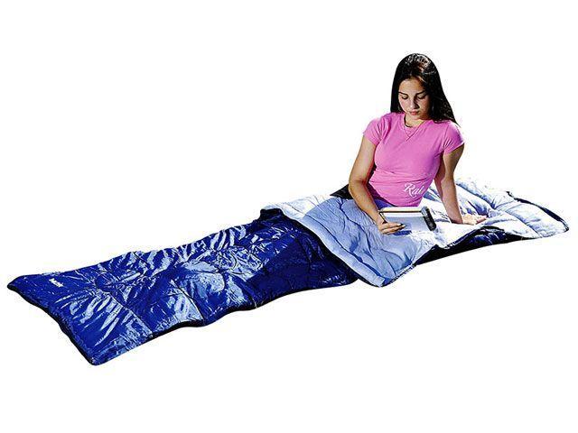 Saco de Dormir Solteiro Tipo Envelope - Abertura em Zíper Mor 9030