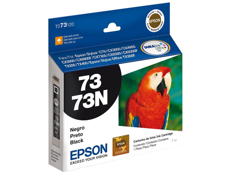 Cartucho de Tinta Epson T073120 Preto - Original