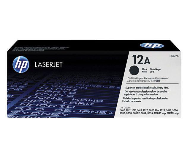 Toner HP Preto 12A LaserJet - Original