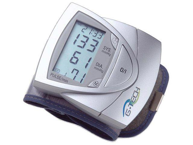 Medidor de Pressão Arterial Digital Automático - de Pulso G-TECH BP3AF1-3