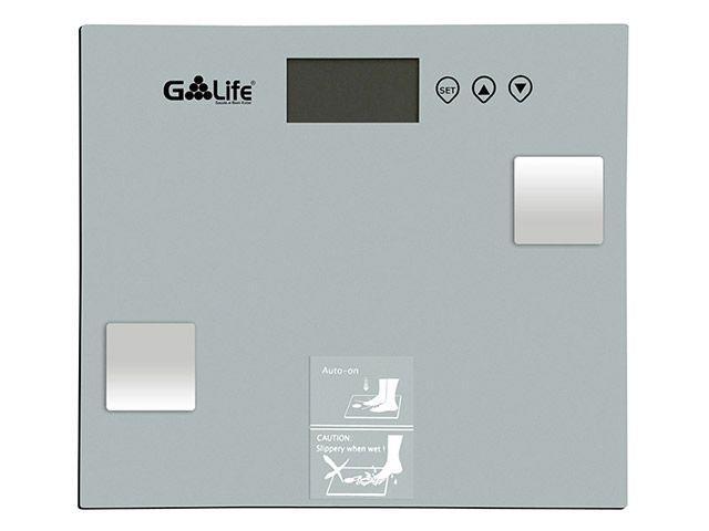 Balança Digital até 150kg Vidro Temperado G-life - Balanças CA6000 Com Medidor de Gordura Corporal