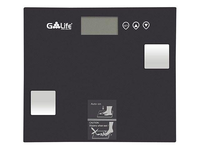Balança Digital até 150kg Vidro Temperado G-life - CA7000 Com Medidor de Gordura Corporal