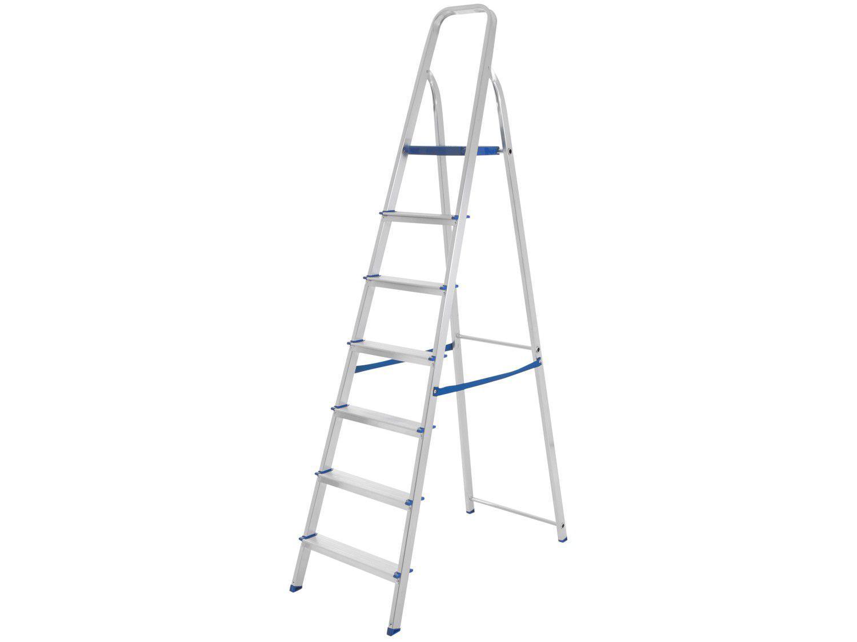 Escada Alumínio Mor 7 Degraus - 5105