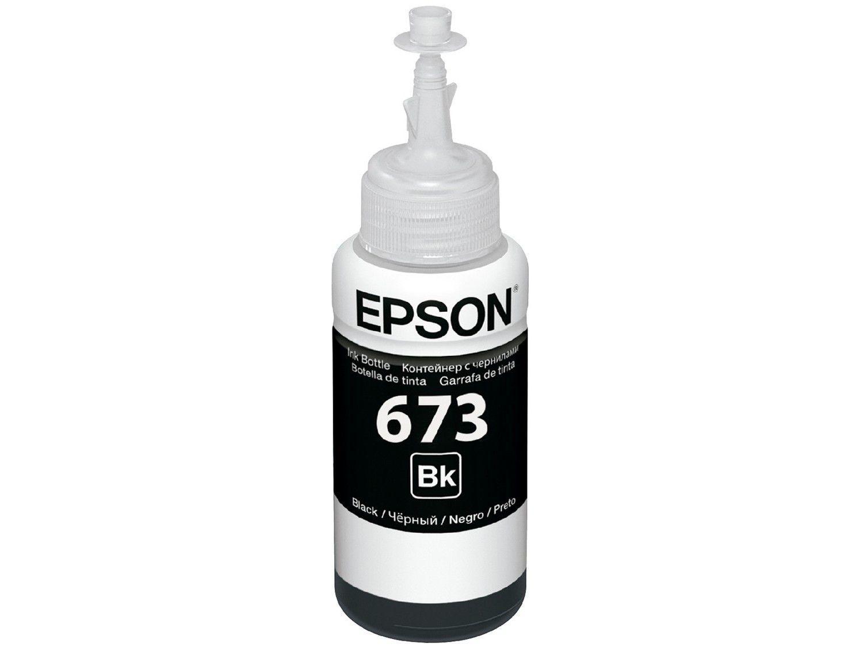 Garrafa de Tinta Epson T673120-AL Preto - Original