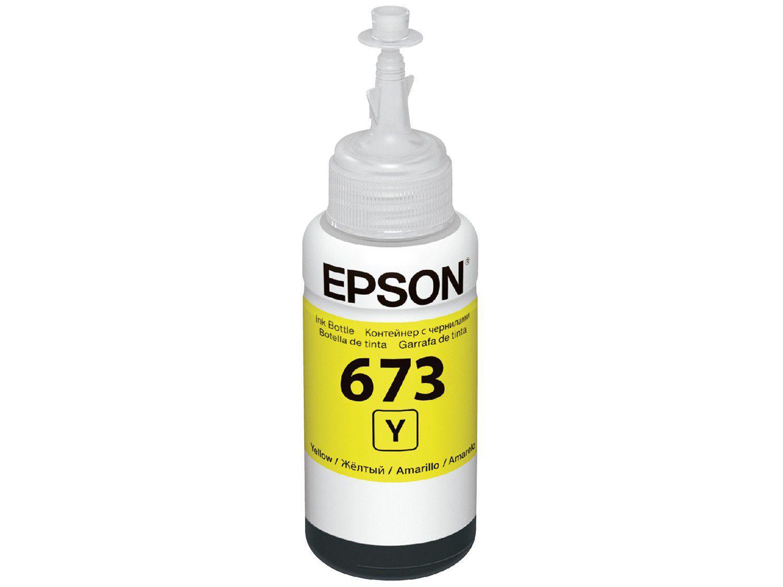 Garrafa de Tinta Epson Amarelo - T673420-AL