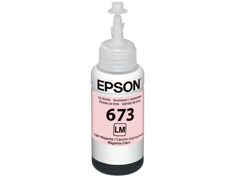 Garrafa de Tinta Epson T673620-AL Magenta Claro - Original