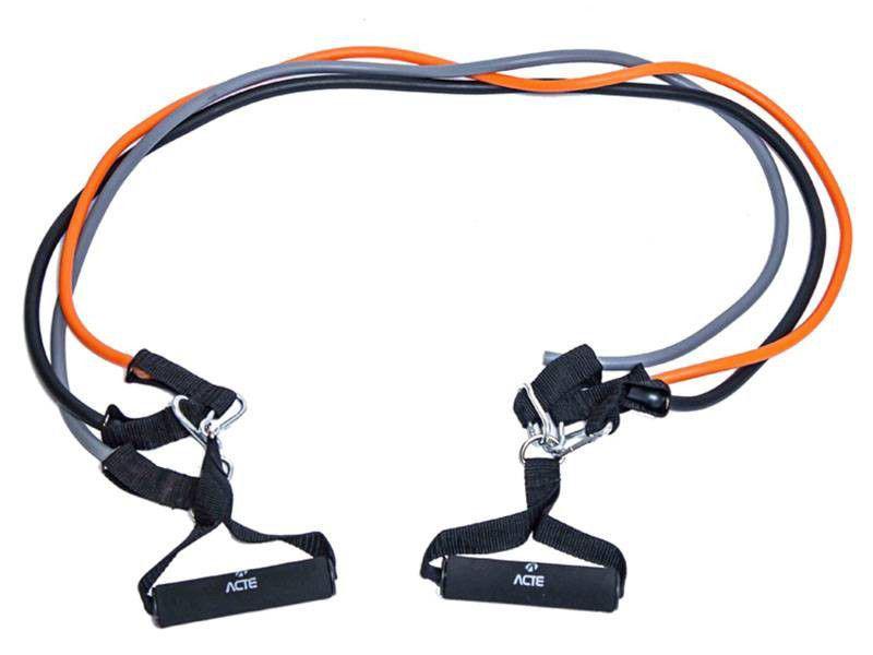 Kit Extensor Multifuncional 3 Níveis de Resistênci - Acte Sports
