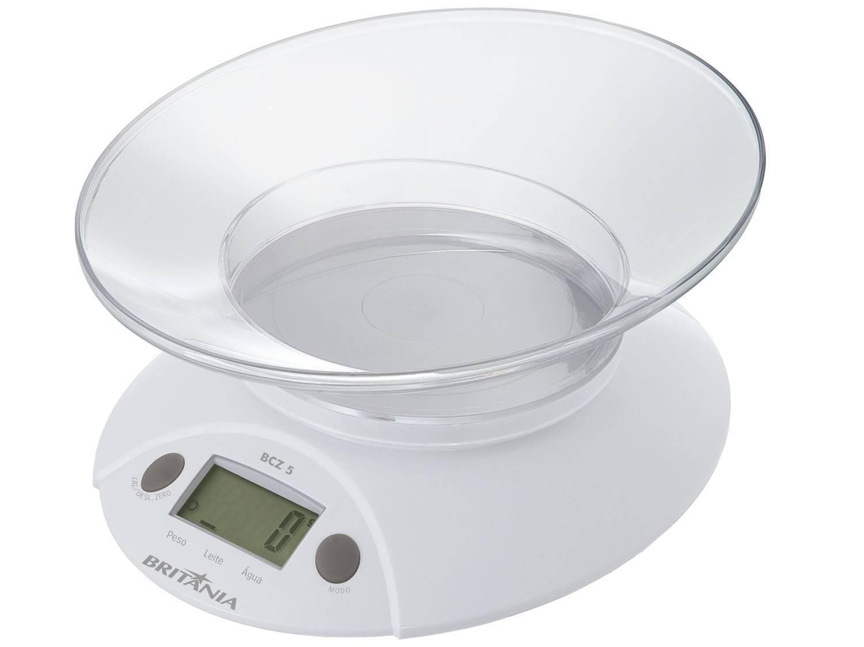 Balança de Cozinha Digital até 5kg Britânia - BCZ5