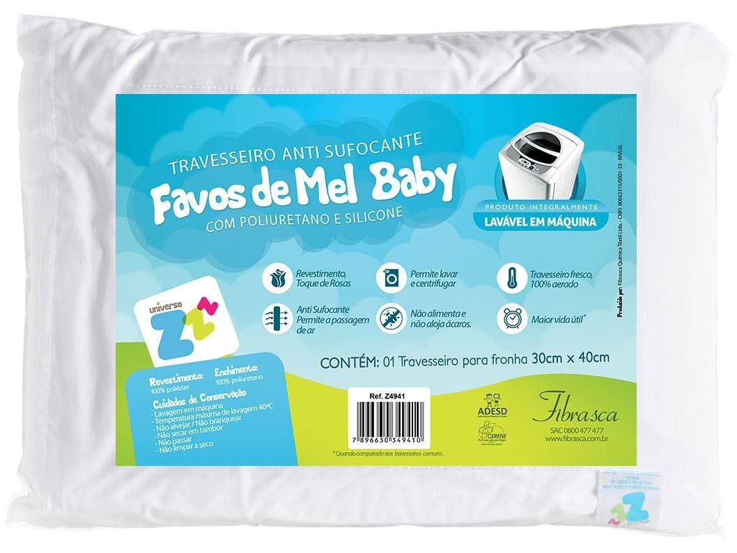 Travesseiro Fibrasca Universo ZZZ - Favinhos Baby