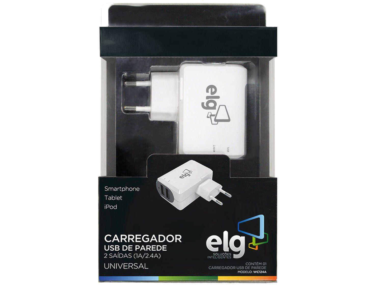 Carregador de Parede para Celular GPS iPad iPhone - iPod USB - ELG