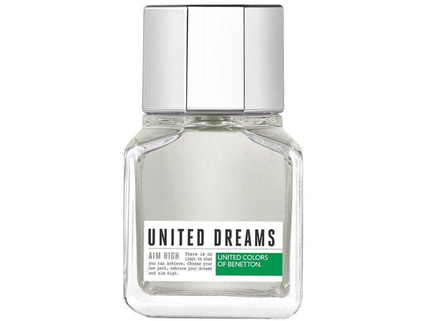 Perfume Benetton United Dreams Aim High Masculino - Eau de Toilette 60ml