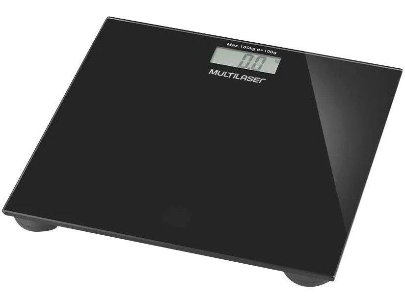 Balança Digital até 180kg Multilaser - Digi-Health