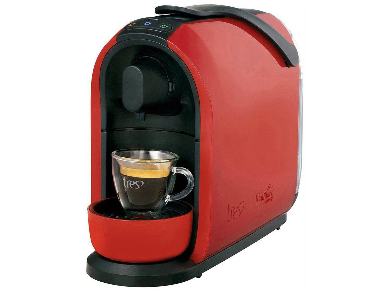 Cafeteira Espresso TRES Mimo Vermelha 3 Corações