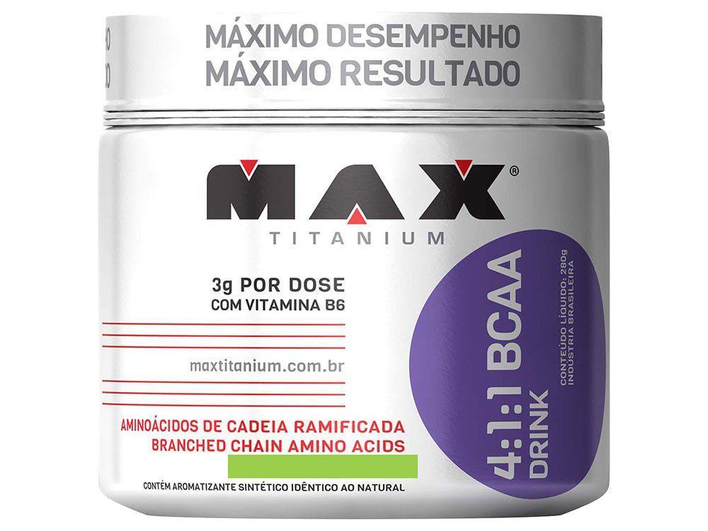 BCAA 4:1:1 Drink 280g - Max Titanium